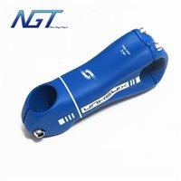 Wholesale Blue color full carbon fiber road bicycle stem mountain bike parts stem mm road stem mtb