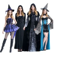banshee movie - Halloween witch costume witch costume queen gothic banshee black vampire dress DS costumes