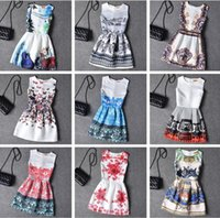 bell clothing line - 2016 Girl flowers lolita style dresses summer tutu dress princess big size korean kids wear birthday girls teenagers clothes