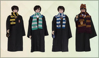 Wholesale 2015 new Fasion Cosplay Custume Harry Potter Custume Academism Scarfs Ties Plus Size Harry Potter magic clock Theme Custome A082535