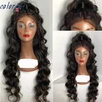 Wholesale Peruvian Loose Wave Human Hair Wigs Lace Front Human Hair Wigs For Black Women Full Lace Human Hair Wigs With Natural Baby Hair