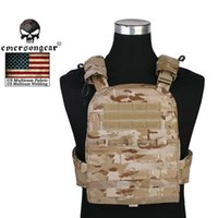Wholesale EMERSON Molle Tactical Hunting AVS Heavy Version Vest Adaptive Plate Carrier Military Paintball War Game Shoulder Strap Clothing
