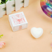 artistic wedding favors - DHL Artistic Scented Heart love Soaps for Wedding Favors Gift Baby Shower Soap Decorative Hand Soaps
