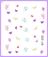bee transfers - 50 Nail Art Water Transfers Stickers Nail Decals Stickers Water Decal Butterfly Bee Dragon Fly Bird Insect