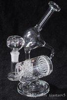 Wholesale Fancy Shape Bottle Shape Glass Waterpipe Bong Hookah