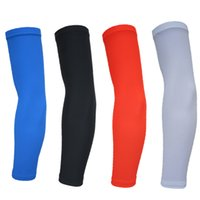 Wholesale wholesaleNew Arm Sleeve Cycling Compression Arm Sleeve Sport Outdoor Fishing Bike Basketball Golf Cover UV Sunscreen Skin Protection Cooling