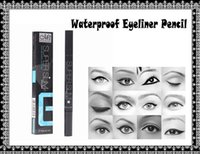 beauty dates - Black Waterproof Quick Dry Pen Liquid Eyeliner Eye Liner Pencil Make Up Beauty Comestics for party wedding dating use DHL Free