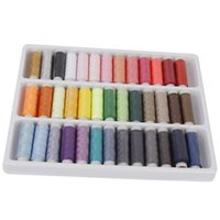 assorted storage box - Aicen Assorted Color Yards Per Unit Polyester Sewing Thread Spool Set A set of quality manual sewing tools DIY package