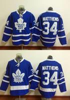best stitch - 2016 New Draft Toronto Maple Leafs Jersey Blue White Auston Matthews Ice Hockey Jerseys Team Color Alternate All Stitched Best Quality