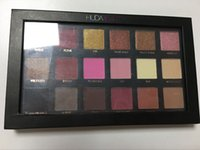 Wholesale In Stock Huda beauty eye shadow Color eyeshadow pallete brand makeup beauty cosmetics with serial number DHL Free
