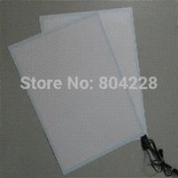 Wholesale 100 New White Light A4 EL Backlight With DC12V Driver Inverter a4 size printer paper