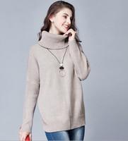 winter sweater for women - Women Casual Sweaters Plus Size Knit Wear Autumn Khaki Gray Color Pullovers Lady Winter Office Work Sweaters Tops for Women