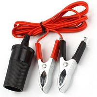 battery terminal extension - Car Battery Terminal Clip on Cigarette lighter Adapter Socket V Extension Cord ea10432