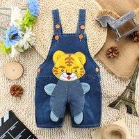 Wholesale Summer Cartoon Tiger Pattern Baby Jeans Shorts Pants Fashion Hot