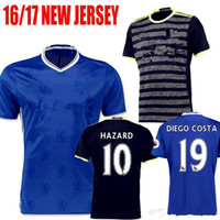 chelsea - Whosales Chelsea Soccer Jerseys Chelsea Jersey Football Shirt Willian HAZARD Pedro OSCAR DIEGO COSTA Free Shippinng TOPThai Quality