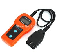 Wholesale 10pcs New Car Diagnostic Tool Memo Scanner Engine Fault Code Reader U480 CAN OBDII OBD FreeShipping
