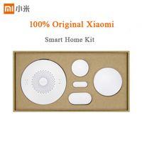Wholesale Original Xiaomi Smart Home Kit Gateway Door Window Sensor Human Body Sensor Wireless Switch Multifunctional Smart Devices Sets Xiaomi Wirele