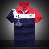 air force colors - New air force one Top Quality embroidery men s Aeronautica militare Men Shirts Brand POLO Colors Size