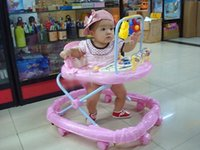 Wholesale 2016 hot sale new style Multifunction Baby walkers children folding walker with music Baby Walkers