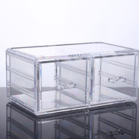 Wholesale 2016 New factory Hot clear large drawer acrylic makeup organizer for boxes YOUR BEST CHOICE