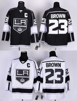 angels king - Excellent Stadium Series Los Angels Kings Jerseys Dustin Brown Jersey black white LA Kings Ice Hockey Jerseys