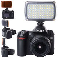 Wholesale 120 LED Photo Studio Video Light Dimmable for Canon Camera Camcorder LF645