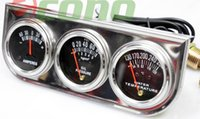 auto meter gauge set - OIL PRESSURE GUAGE TRIPLE quot RACING quot x quot AUTO GAUGES SET AMP METER WATER PRESSURE