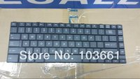 Wholesale original For toshiba L800 L805 L830 C800 C800D laptop AEBY3U02130 US Z N7PSQ black US keyboard