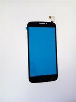 alcatel parts - For Alcatel One Touch POP C7 OT D X Black White Touch Screen Digitizer Glass Lens Panel Parts