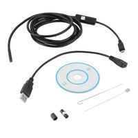 hot vedio - 5 mm LEDs P Android USB Endoscope IP67 Waterproof Inspection With M Cable CD Driver Borescope Vedio Camera hot new