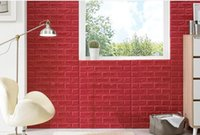3D Sticker XPE faux brick 2017 Waterproof boards interior home decoration wall panel 3D XPE lightweigt faux brick wall panel