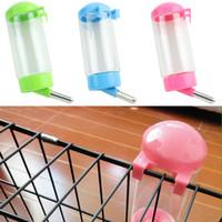 auto bird feeder - New Arrival ml Water Bottles Plastic Pet Water Dispenser Dog Bird Hanging Bottle Auto Feeder Rabbit