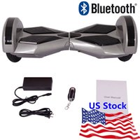electric scooters - US Stock quot Led Scooter Hoverboard Bluetooth Smart Balance Wheel Electric Skateboard With Sam Battery Self Balancing Electric Scooters