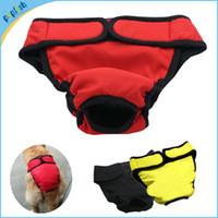 Wholesale Small Washable Female Dog Sanitary Nappy Diaper Pet Cloth Underwear XXL Size Dog Pant