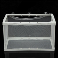 aquarium fish breeders - Top Quality Aquarium Fish Tank Guppy Breeding Breeder Baby Fry Newborn Net Trap Box Hatchery Compact Design Easy Assembling