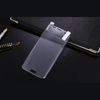 Wholesale 3D Curved Tempered Glass Screen Protectors For Samsung S7 Curved Full Screen For Samsung Galaxy S7