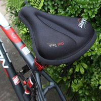 Wholesale Outdoor Black Bike Saddle Cover Road Cycling Cushion Pad Bicycle Foam Seats MN0047 kevinstyle