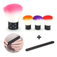 Wholesale Black Nail Art File Buffer Styling Sanding Polisher Pedicure Sandpaper Safe Pro Salon