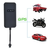 Wholesale Realtime Car Motorcycle GSM GPRS GPS Tracker Quad Band Tracking Device TK110 GPS Locator Google Link Real Time Tracking