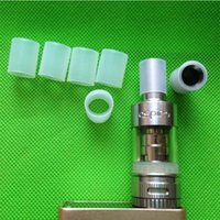 bear testing - Wide bore silicone test drip tip cover sub ohm tank atomizer rubber cap for aspire atlantis tank RDA RBA silicon mouthpiece