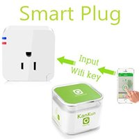 Wholesale Intelligent Smart Wifi Plug Socket Wireless Switch Smart Plug Wifi Socket Wifi Smart US Plug for Iphone Ipad Android Smartphone APP
