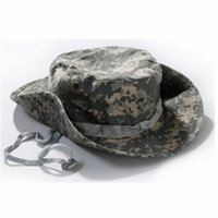 acu boonie hat - Camouflage Black ACU Jungle Digital Boonie Hats Tactical Airsoft Sniper Nepalese Cap Militares Army Mens Military Hiking Sun Hat