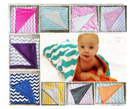 baby qulit - 2016 European Style Children Cotton blanket baby kids spring qulit infant dot zig zag children s air condition blankets