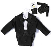 Wholesale Special Offer Classic Lovely Boy s Wedding Party Suit Boy s Tuxedo Flower Boy s Dress Baby Wedding Suit Children Wedding Suit
