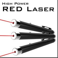 Wholesale 5MW mW High Power RED Laser beam Pointer point Pen for PPT MEETING TEACHER MANAGER SOS Mounting Night Hunting