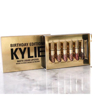 Wholesale New Arrived Cosmetics by Kylie Jenner Limited Birthday Edition Gloss In POPPIN Different Colour lip golss