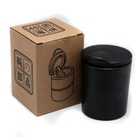 Wholesale Portable Ashtray Car LED Light Ashtray Auto Travel Cigarette Ash Holder Cup C003