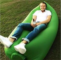 big bouncers - 2016 Fast inflatable bouncers sleep sofa beach PVC sleeping bag hangout camping sofa lazy chair outdoor high quality