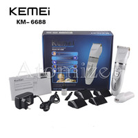 baby grooming kit - KEMEI KM Rechargeable Electric Hair Clippers Barber Scissors Trimmers Grooming Kit with Limit Combs for Adult Baby