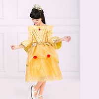 aurora prom dresses - PrettyBaby layers Belle Princess Dress Princess Aurora Children Dresses Christmas Dress With prom dress